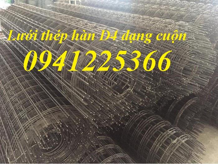 Lưới thép hàn D4 dạng cuộn