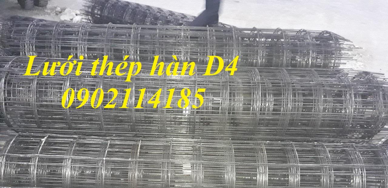 Lưới thép hàn D4a100mm