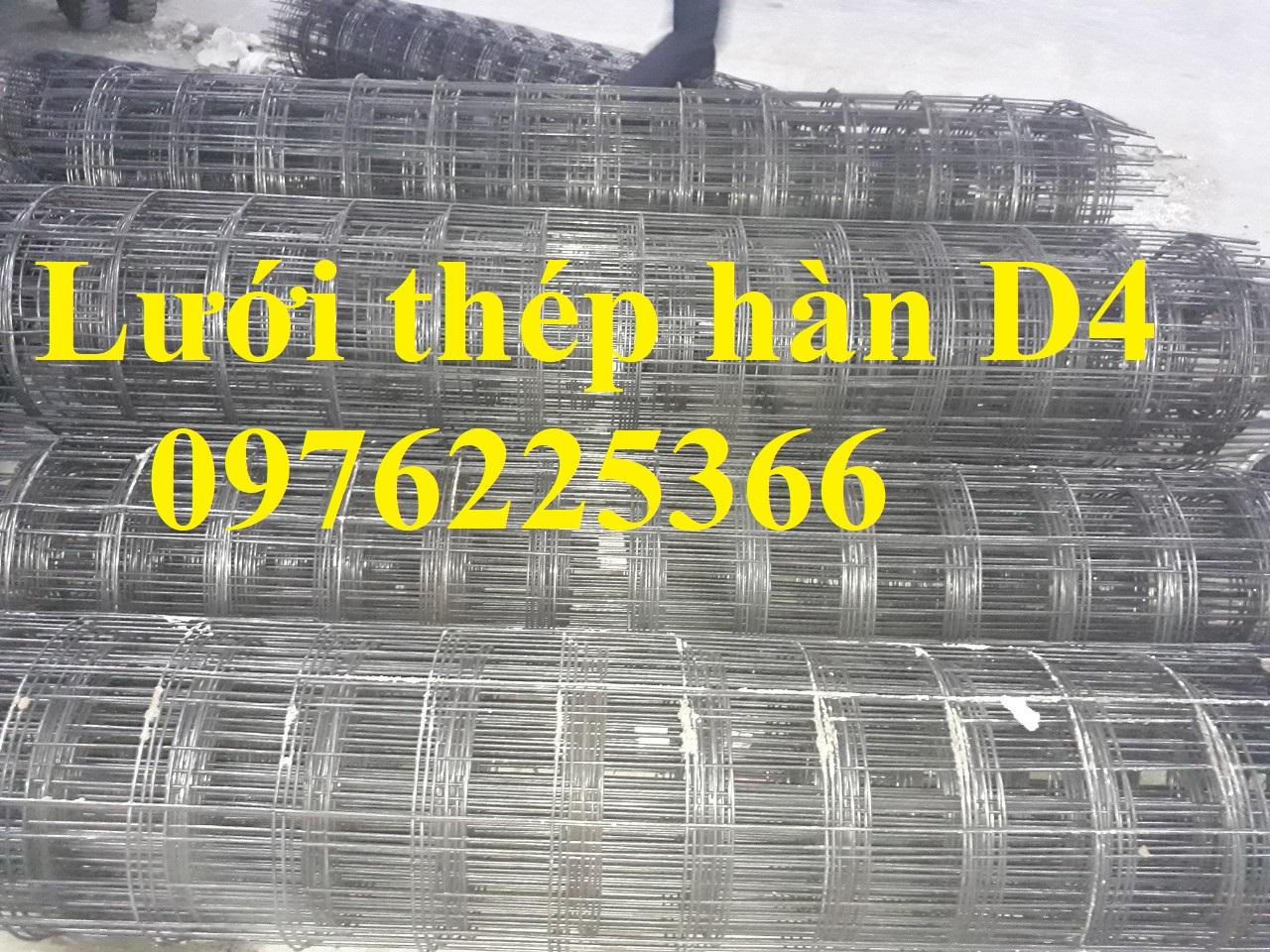 Lưới thép hàn D4